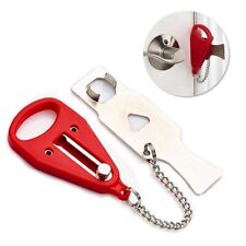 Portable Door Lock Hardware Safety Security Tool Home Privacy Travel Hotel A680