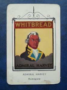 Whitbread Inn Signs   FIFTH SERIES   No 1     THE ADMIRAL HARVEY