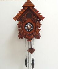 Vintage Black Forest Cuckoo Clock working order with pendulum / weights
