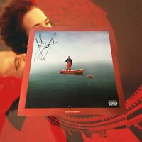 Lil Yachty Lil Boat Autographed Red Vinyl LP Mixtape (Condition: M-)