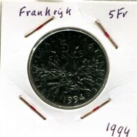 5 FRANCS 1994 FRANCE French Coin #AM642UW