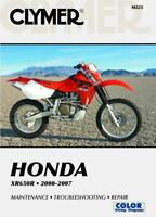 Honda XR650R 2000-2007 Repair Manual