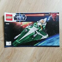 LEGO - BOOKLET ONLY Saesee Tiin's Jedi Starfighter - Star Wars - 9498