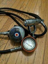 Vintage Retro Swimaster Aqua Lung Calypso Scuba Regulator set with Spg *So Cool*