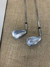 New Mercedes Golf LEFT HANDED 52* 56* Wedge Set Steel Shafts