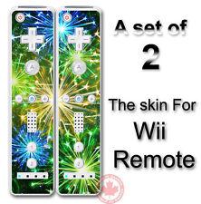 Fireworks SKIN COVER STICKER for NINTENDO Wii Remote