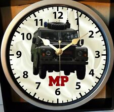 OP BANNER ARMY MP LANDROVER NORTHERN IRELAND CIRCLE WALL CLOCK 9 INCH DIA