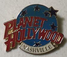 Planet Hollywood Nashville Globe Logo Lapel Hat Pin Pinback ~ Tennessee ~ TN