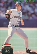 472  RUSS SWAN  SEATTLE MARINERS TOPPS BASEBALL CARD STADIUM CLUB 1992