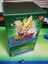 Dragon Ball Z Panini TCG Gravity Feed Booster Box 48 x12 Card Pack DBZ 4 sets!!!