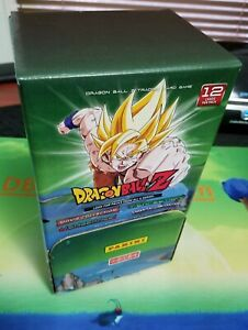 Dragon Ball Z DBZ Panini TCG Gravity Feed Booster Box 48 Packs of 12, 4 sets!!!