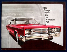 Prospectus brochure 1967 Chrysler 300 * Newport * New York (États-Unis) Prestige