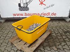Mörtelkübel 200 Ltr. + Normalkupplung + Drehkupplung Schalung Gerüst Set