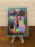 2020-21 Panini NBA Green Prizm Russell Westbrook Washington Wizards!!