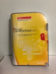 Microsoft Office Excel 2007 Upgrade