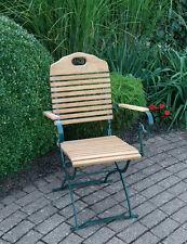 Gartenstuhl Bad Tölz Klappsessel Gartensessel Stuhl Sessel Terrasse Balkon grün