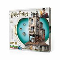 Wrebbit 3D Puzzle Harry Potter -  The Burrow Weasley Family Home 3D Puzzle