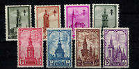 Timbres de Belgique ref COB N° 519 --> 526  Neuf **,  MNH
