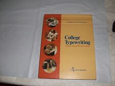 College Typewriting: Complete Course 10th edition (1980, Hardcover)