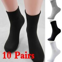 Practice 10 Pairs Men's Socks Winter Thermal Casual Soft Cotton Sport Sock Gift