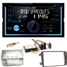 JVC KW-DB93BT USB CD Einbauset für Mercedes C-Klasse W203 CLK W208 W209