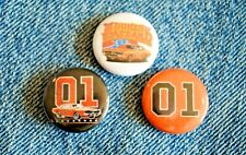 """The Dukes of Hazzard Pins Badge 1"""" pinback TV Show General Lee 01 Car charger"""