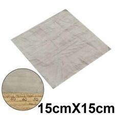 500 Mesh Woven Wire Mesh Filter Screen Square Sheet Stainless Steel 150 x 150mm