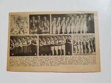 Kingston Ontario Toronto Owen Sound St. Thomas 1916-17 Basketball Team Picture
