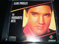 Elvis Presley 14 Favourite Hits Rare Australian Rainbow Best Of CD