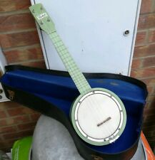 Banjo ukulele With Case. Restored and ready to play