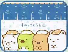 SAN-X Sumikko Gurashi Cute Cat Polar Bear Penguin Small Blanket 60cm X 80cm NEW