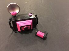 Monster High Draculaura Fashion Pack Newspaper Club Photo CAMERA + FILM ROLL