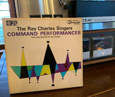 Command Performances Reel Tape Ray Charles Singers 4 Track Stereo 7 1/2 ips