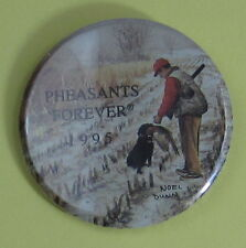 1995 Pheasants Forever Conservation Club Membership Button...Free Shipping!