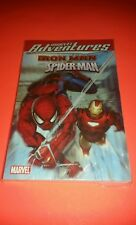"""Marvel Adventures Digest IRONMAN AND SPIDER-MAN! (TPB,5""""X8"""") BRAND NEW!"""