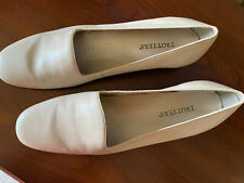 TROTTERS WOMEN'S LEANNE BONE LEATHER FLATS SHOES - SIZE 13 M - NEW IN BOX