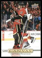 2019-20 Upper Deck UD Canvas #C82 Matthew Tkachuk - Calgary Flames