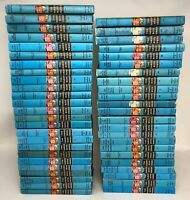 Lot 48 Vintage HARDY BOYS Hardcover Matte Editions Blue Spines