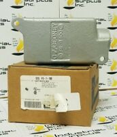 GEDNEY FS-1-100 MALLABLE IRON FS-FD DEVICE BOX  W126 O Z