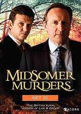 Midsomer Murders, Set 21 New DVD! Ships Fast!