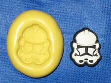 Darth Vader Star Wars Silicone Push Mold 837 For Chocolate Resin Clay Craft