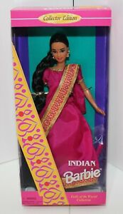 Indian Barbie Dolls of the World Collector Edition Mattel New in Box #14451 1995