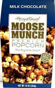 Harry & David Moose Munch Premium Popcorn Milk Chocolate 10 oz ( Pack of 6 )