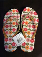 VERA BRADLEY FOLKLORIC SIZE SMALL FLIP FLOPS FOR POOL BEACH HOME VACATION