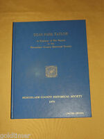 VINTAGE 1979 RENSSELAER COUNTY HISTORICAL SOCIETY DEAN PARK TAYLOR BOOK