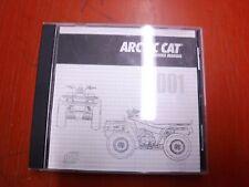 2001 Arctic All Models Atv Original Factory Service Manual Cd