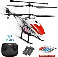 DE51 Remote Control Helicopter RC Helicopters +Gyro 2 Battery 2 Shell Auto Hover