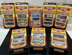 8 x Matchbox Tesco Vintage Vehicle Gift Sets (lot 46)