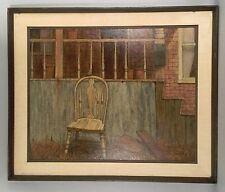 Gilbert Williams Original Oil Painting - Echos - 30x36 Framed - 1970