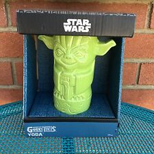 Yoda Tiki Bar Drink Mug Star Wars Lucasfilm LTD Ceramic Grand Master Jedi Order